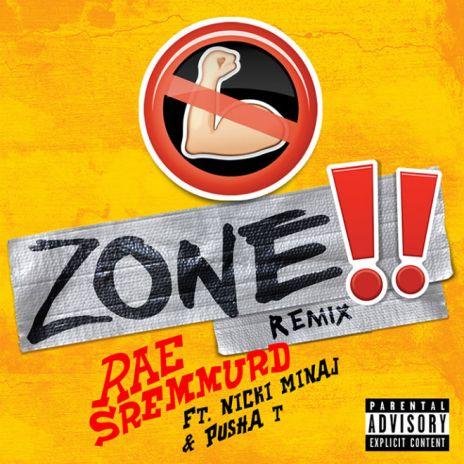 Rae Sremmurd featuring Nicki Minaj & Pusha T - No Flex Zone (Remix)