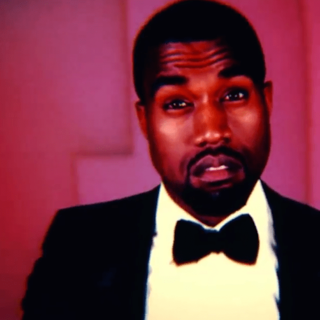 watch a clip from kanye west 39 s robocop video hypebeast. Black Bedroom Furniture Sets. Home Design Ideas