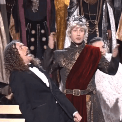 "Watch ""Weird Al"" Yankovic's Medley of Emmy-Nominated TV Theme Songs"