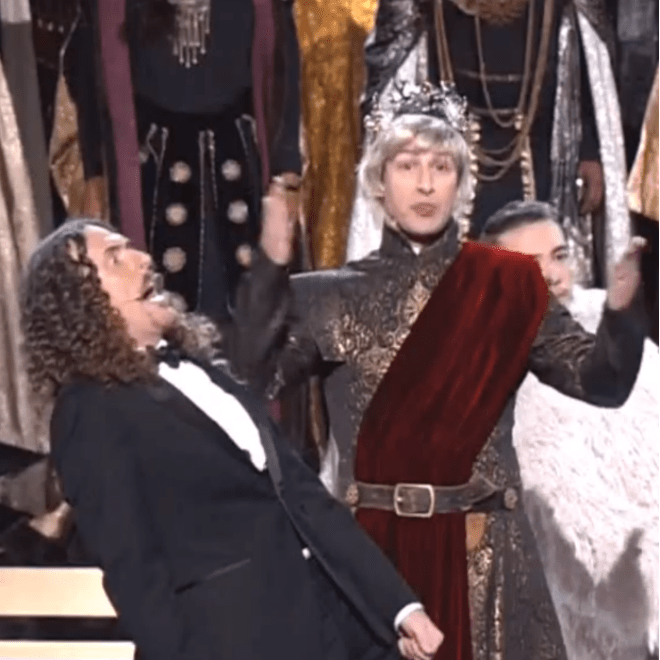 """Watch """"Weird Al"""" Yankovic's Medley of Emmy-Nominated TV Theme Songs"""