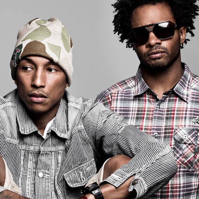 Pharrell & Shay Haley Hint at new N.E.R.D Material