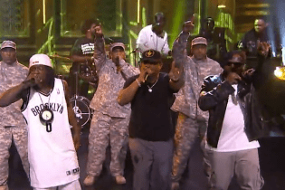 "Public Enemy & The Roots Perform ""Public Enemy No. 1"" on  'Fallon'"