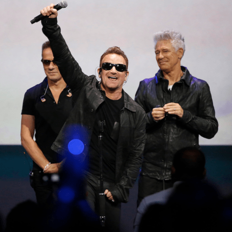 U2 Joining Forces With Apple to Create New Music Platform
