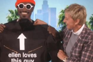 André 3000 Stops By 'The Ellen Degeneres Show'