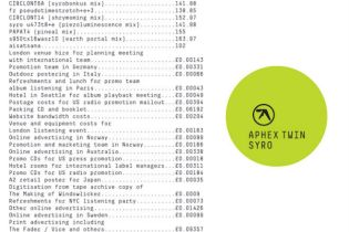 Aphex Twin - Syro (Album Stream)