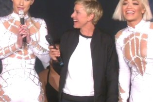"Iggy Azalea & Rita Ora Perform ""Black Widow"" on 'Ellen'"