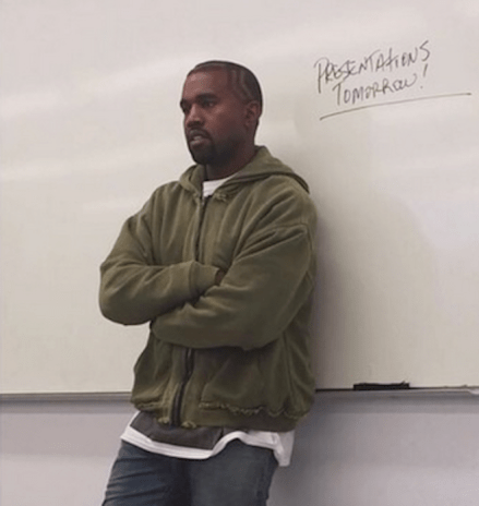 Kanye West Serving Community Service Hours as a Teacher