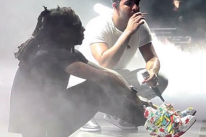 Music lil wayne drake grindin comments by staff sep 19 2014 lil wayne