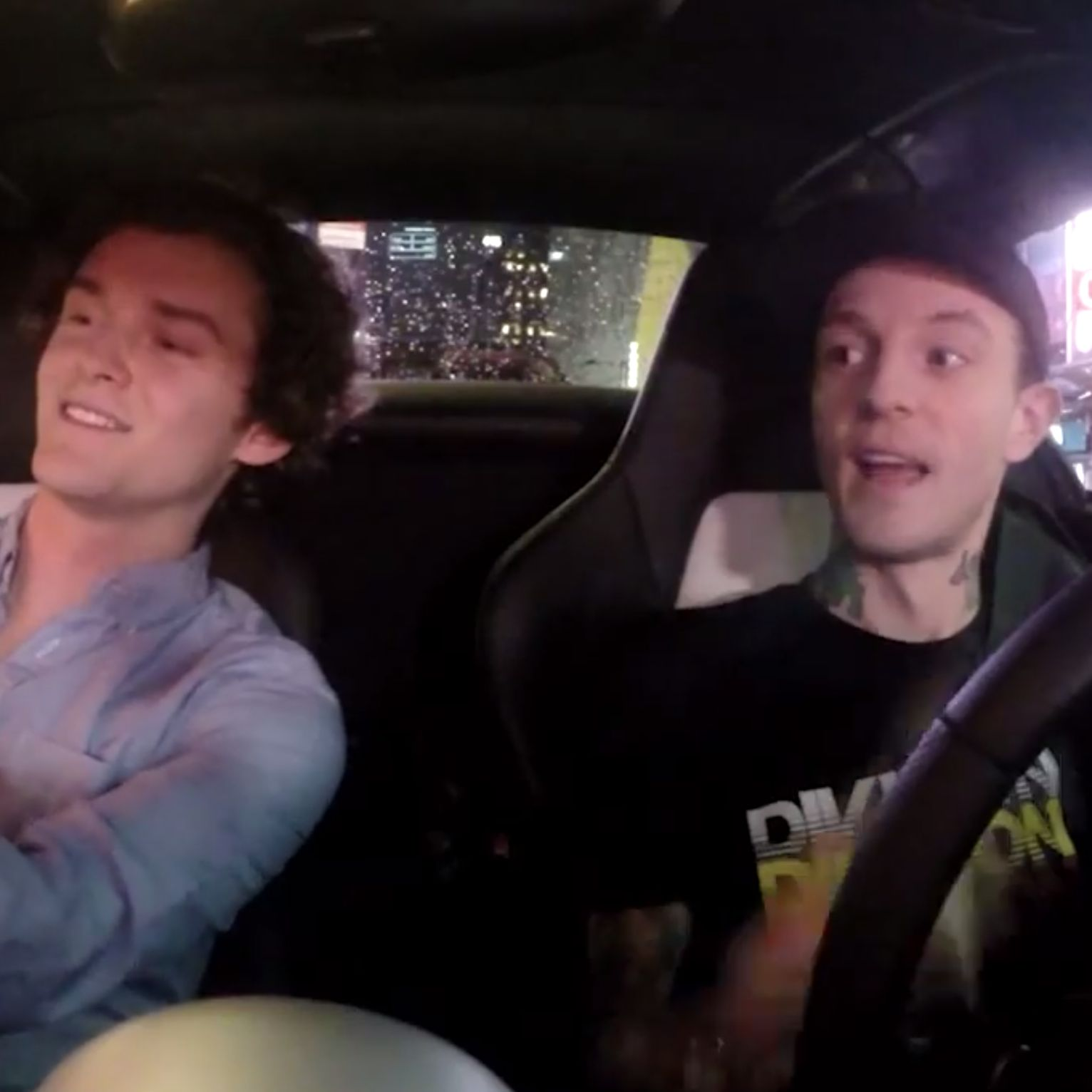 Recap Deadmau5′s Night as an Uber Driver