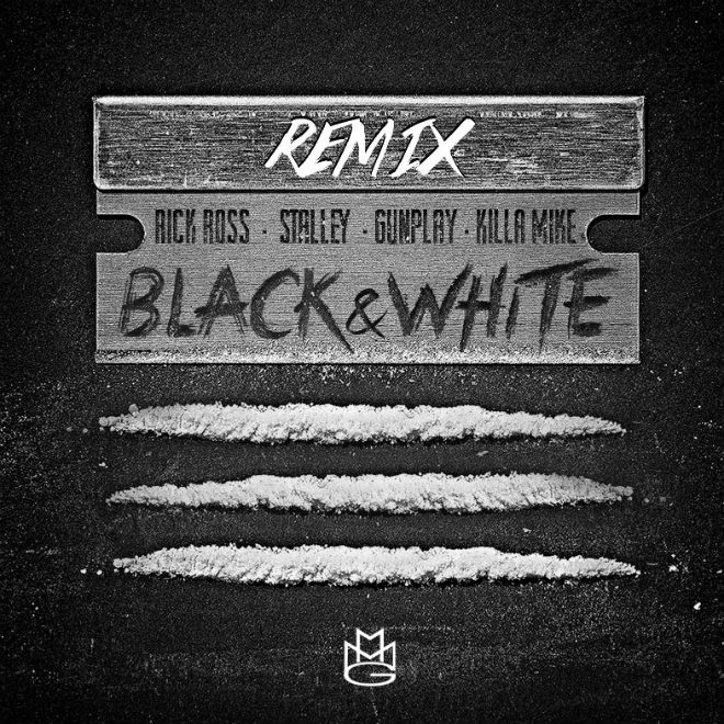 Rick Ross featuring Stalley, Gunplay, & Killer Mike - Black & White (Remix)