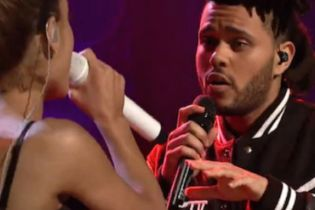 Watch Ariana Grande Perform with The Weeknd on 'Saturday Night Live'