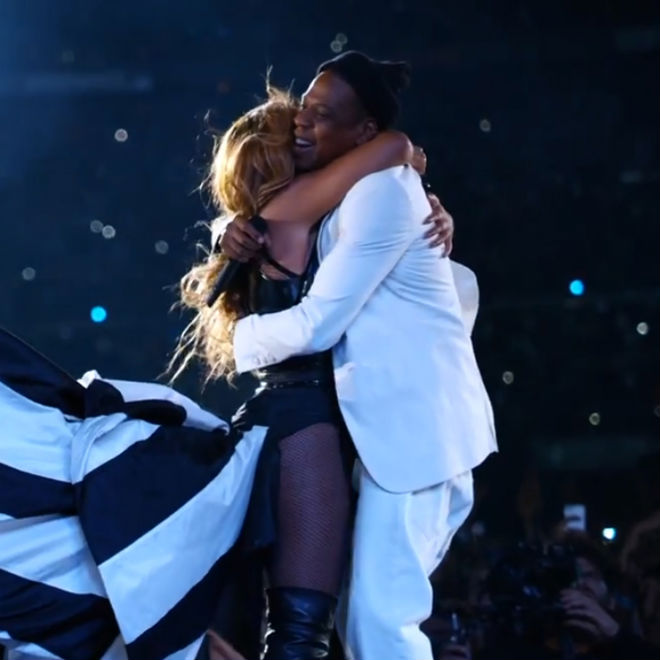 "Watch JAY Z & Beyoncé Perform ""Young Forever"" & ""Halo"" for HBO's 'On The Run'"
