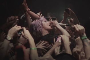 Alice Glass Leaves Crystal Castles