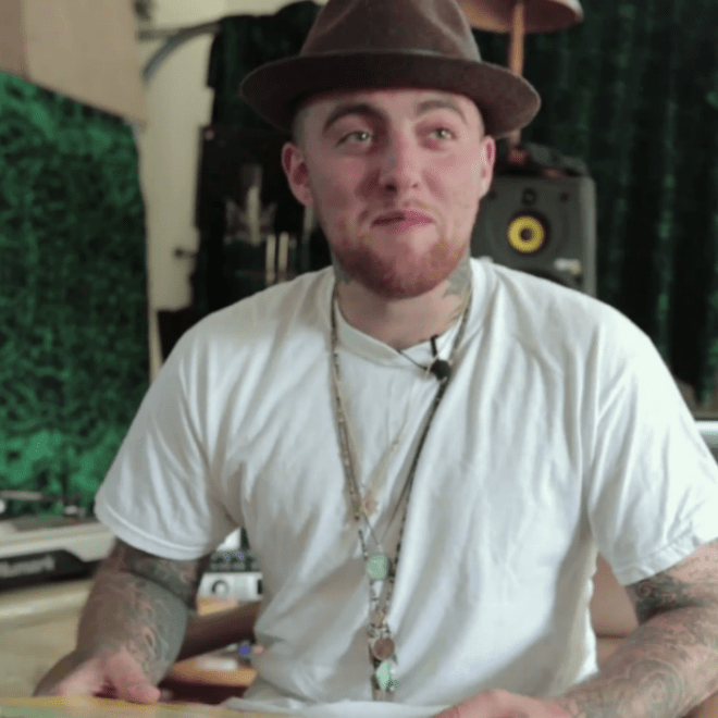 Here's Mac Miller Creating a Beat From Scratch
