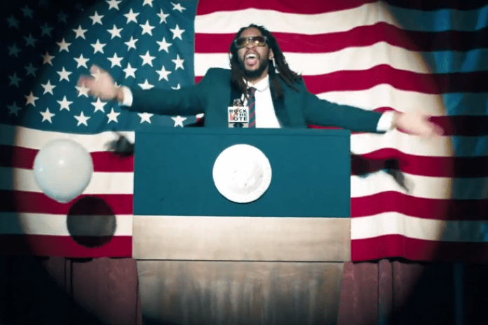Lil Jon & Lena Dunham Hype Voting in Ridiculous #TURNOUTFORWHAT Video