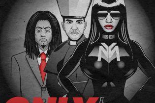 "Nicki Minaj Teases New Single ""Only"" with Lil Wayne & Drake Artwork"