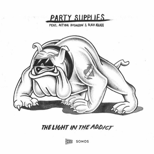 Party Supplies featuring Action Bronson & Black Atlass - The Light In the Addict