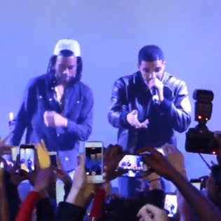PARTYNEXTDOOR Brought Out Drake During His NYC Show Last Night