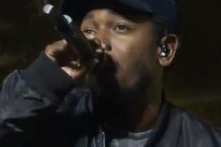 "Watch Kendrick Lamar Perform ""i"" at Cleveland Cavaliers Season Opener"