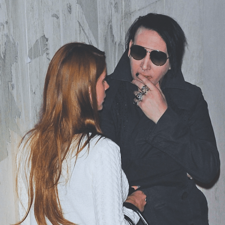 Watch A Deranged Eli Roth-Directed Clip for Marilyn Manson Featuring Lana Del Rey