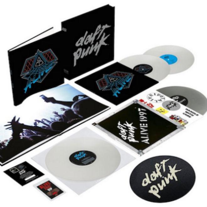 Daft Punk Is Releasing a Live Album Box Set