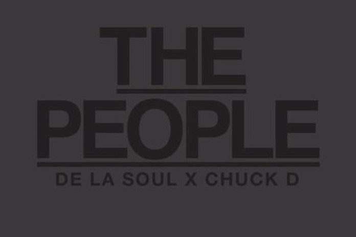 De La Soul featuring Chuck D - The People