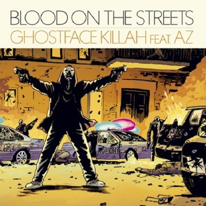 Ghostface Killah featuring AZ - Blood On The Streets