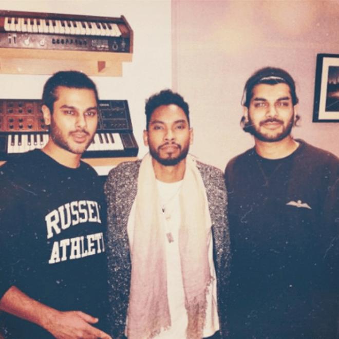 Here's Jai Paul Appearing on Miguel's Instagram