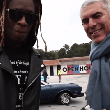 Watch Lyor Cohen Visit Young Thug, Travis $cott & Quality Control Records