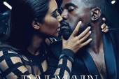 Kanye West and Kim Kardashian Are the New Faces of Balmain