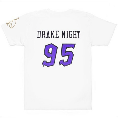 "The Raptors to Celebrate ""Drake Night"" with Special Edition T-Shirt"