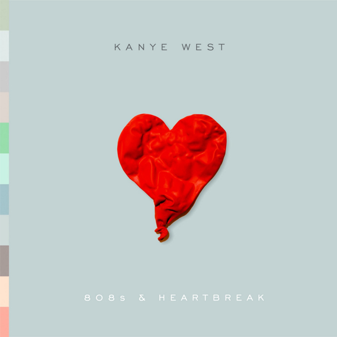 "Kanye West's 808s & Heartbreak Makes Rolling Stone's ""Most Groundbreaking Album"" List"