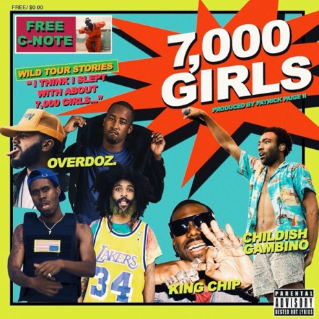 OverDoz. featuring Childish Gambino and King Chip - 7000 Girls