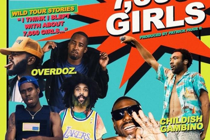 OverDoz. featuring Childish Gambino and King Chip - 7000 Girls