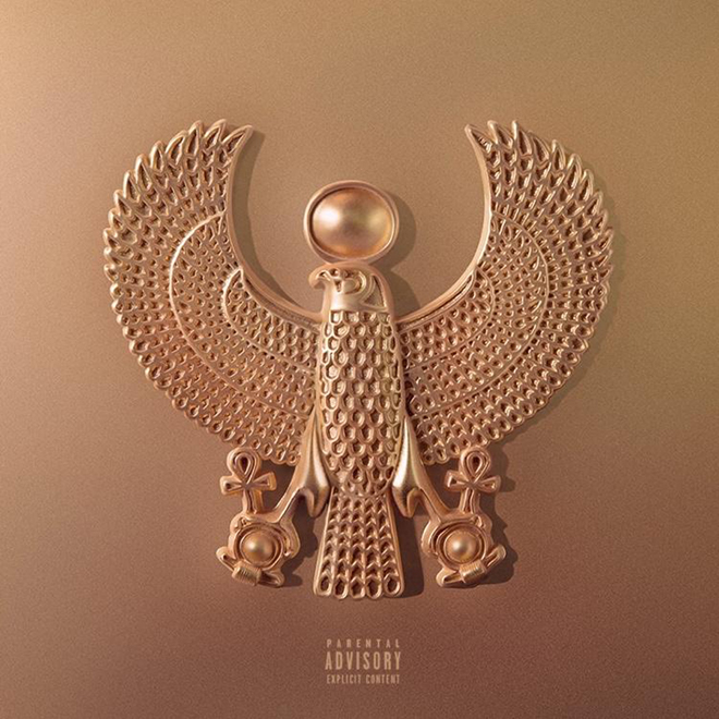 Tyga Reveals Kanye West-designed Cover for Upcoming 'The Gold Album: 18th Dynasty'