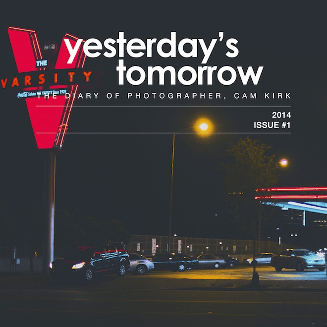 "Hip-Hop Photographer Cam Kirk Releases ""Yesterday's Tomorrow: The Diary of Photographer, Cam Kirk"""