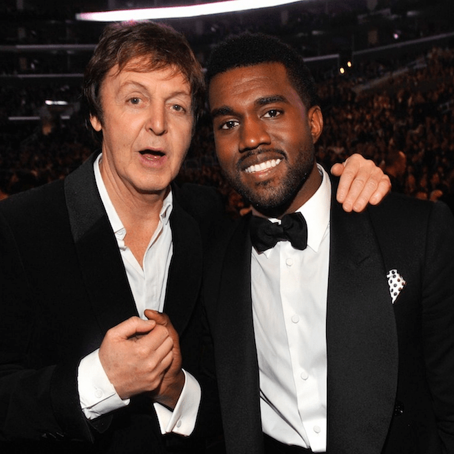 Paul McCartney Will Not Be Co-Producing the New Kanye West Album