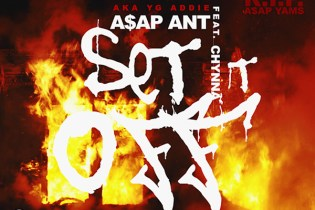 A$AP Ant featuring Chynna - Set Dat B*tch Off