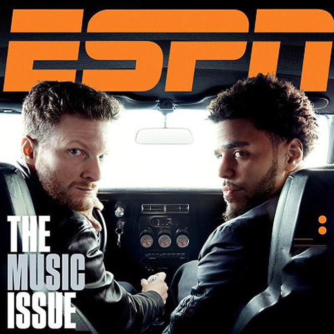 J. Cole Appears on Cover of ESPN Magazine's Upcoming Issue