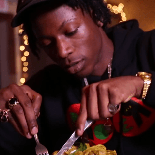 Joey Bada$$ Makes Curry Chicken & Waffles with John Seymour of Sweet Chick