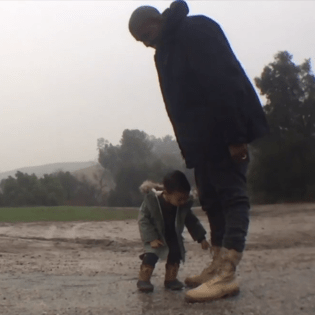 Kanye West featuring North West - Only One