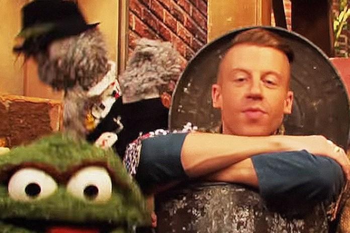 "Macklemore Guest Stars On 'Sesame Street,' Performs ""Thrift Shop"""
