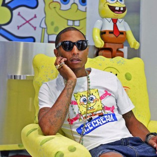 N.E.R.D. Contributes Two More Tracks for 'The SpongeBob Movie' Soundtrack