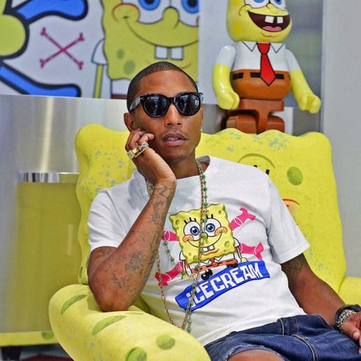 N.E.R.D. Contributes Two More Tracks for 'The SpongeBob Movie' Soundtrack