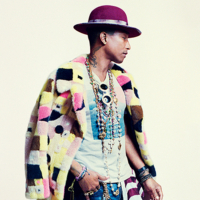 Pharrell to be Featured on Cover of GQ Magazine