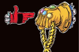 Run The Jewels Get Marvel Comic Book Cover