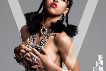 Tinashe and FKA twigs Go Topless for V Magazine