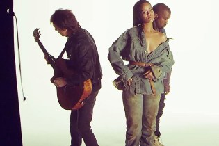 "Watch the Behind-the-Scenes to Rihanna, Kanye West and Paul McCartney's ""FourFiveSeconds"""