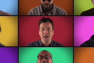 "Jimmy Fallon's ""We Are The Champions"" A Cappella featuring Sam Smith, Usher, Ariana Grande & More"