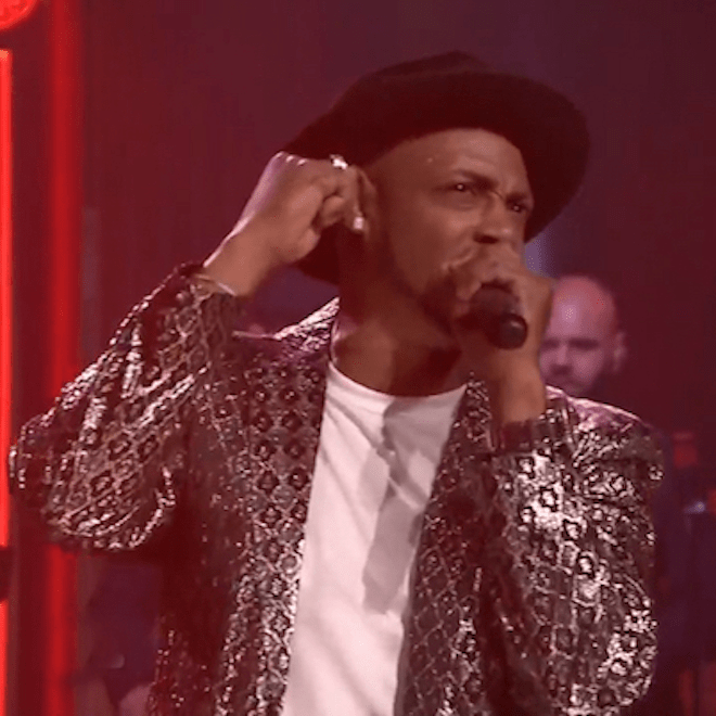 "Mark Ronson & Mystikal Perform ""Feel Right"" on 'Fallon'"
